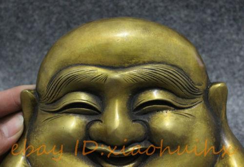 Buddha Face Mask Statue