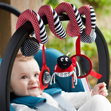 Buy 1Pc Baby Cute Toys Spiral Activity Bed Stroller Set Toy Crib Hanging Bell Rattle for $4.69 in AliExpress store