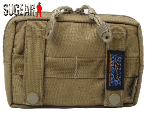 2 colors Brand CALDERAGEAR Tactical Army Military Combat 1000D Cordura Molle Utility EDC Pouch Medical First Aid Pouch Black/Tan