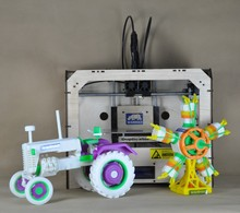 2 color extruder  3d printer use ABS PLA