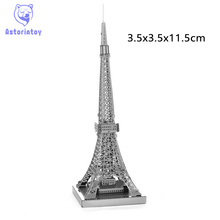 Buy 3D Metal Puzzles Eiffel Tower Building Toy 3D Metal Model NANO Puzzles New Styles Chinses Metal Earth DIY Creative Gifts for $3.69 in AliExpress store