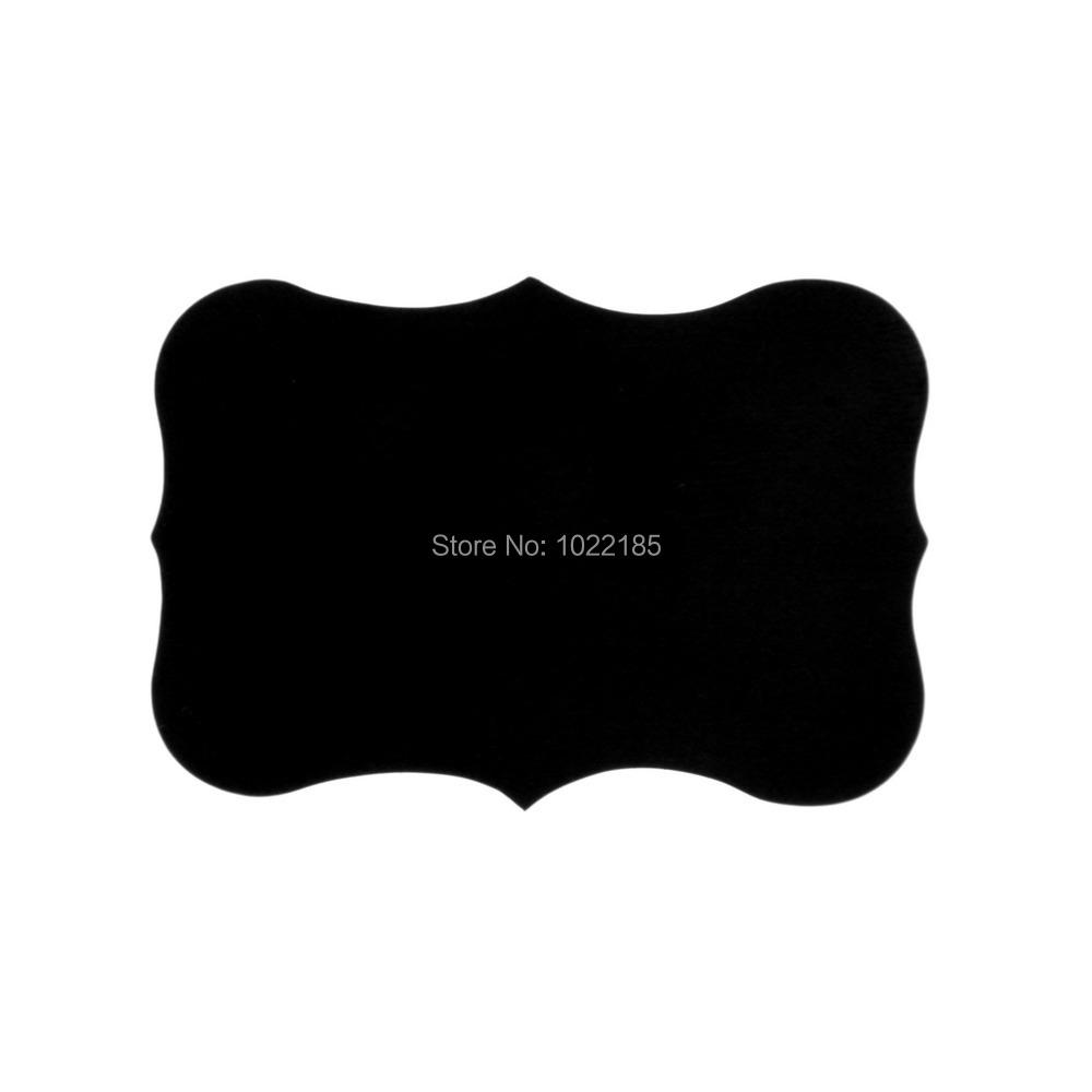 36pcs Chalkboard Blackboard Chalk Board Stickers Craft Kitchen Jar Labels wholesale sale