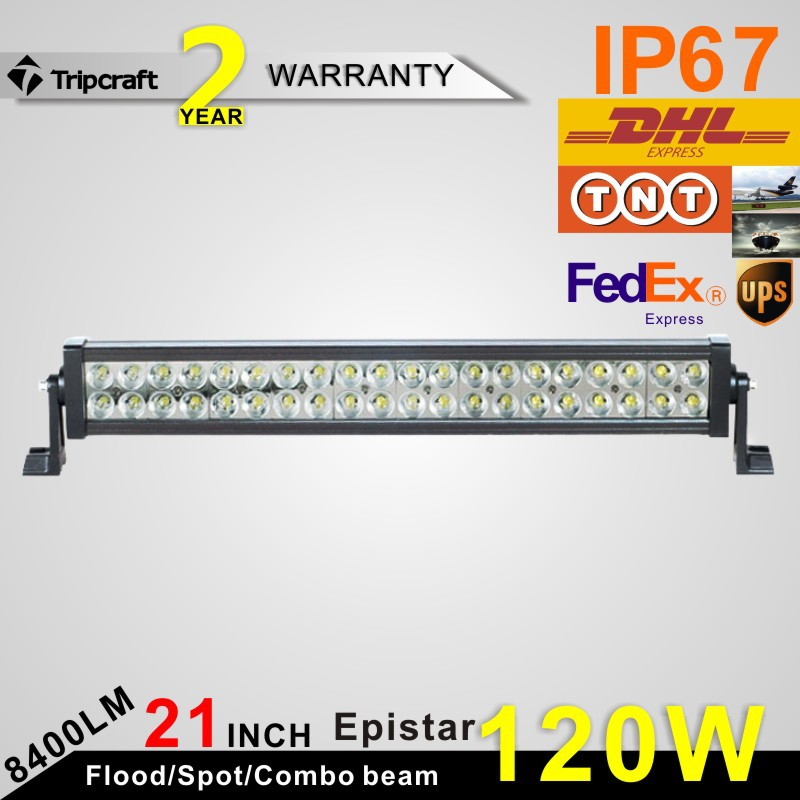 Фотография 120w Led Light Bar Super Bright  Offroad Led fog Light IP67 102000 Lumin for ATV SUV