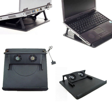 Hot-sale 2 Fan USB Port Cooling Cooler Pad Stand For 14″ 15.6″ 17″ Inch Laptops Notebook 1 PC