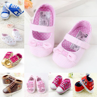 1 Pair Free Shipping Fashion Baby Toddler Shoes Newborn Shoes Baby Boy'S & Girl'S Kids Children's Footwear 5509