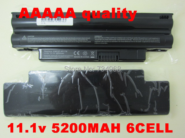 Notebook battery for Dell FOR Inspiron 1012n 1012 1012v 0T96F2 999T2059F WR5NP P04T001 0N42J8 854TJ TT84R 0NJ644 8PY7N VXY21(China (Mainland))