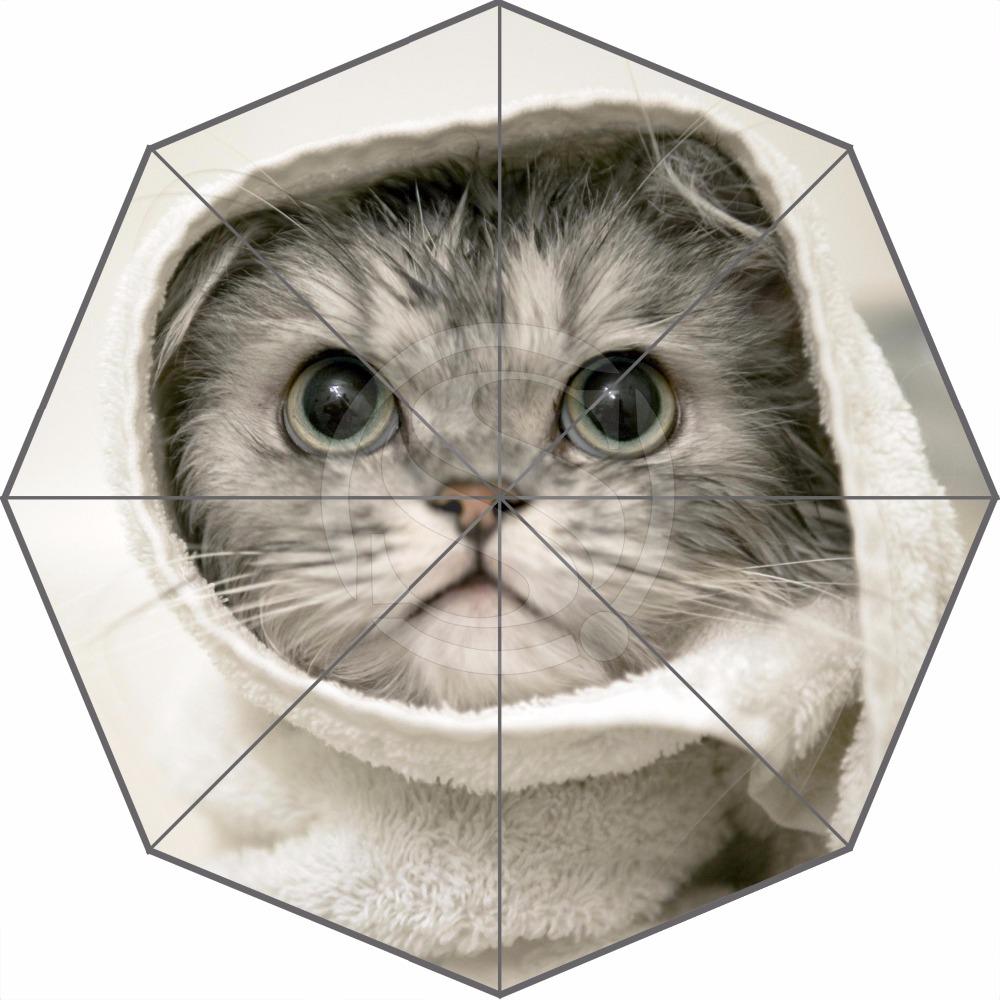 Hot Sale Lovely cat Custom pet animal Umbrella Fashion Design Umbrella For Man And Women High Quality Free Shipping(China (Mainland))