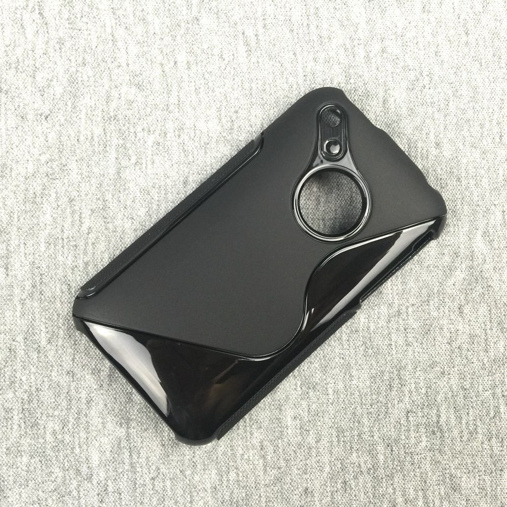 Original S Line Silicon Phone Case Soft TPU Black Cover Case For iPhone 3 3G 3GS Black(China (Mainland))