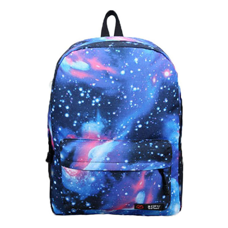 2016 Universe Stars Printing Backpack Women Space Galaxy