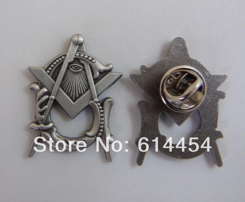Wholesale Masonic Lapel Pins Badge Mason Freemason Antique Silver Style B21<br><br>Aliexpress
