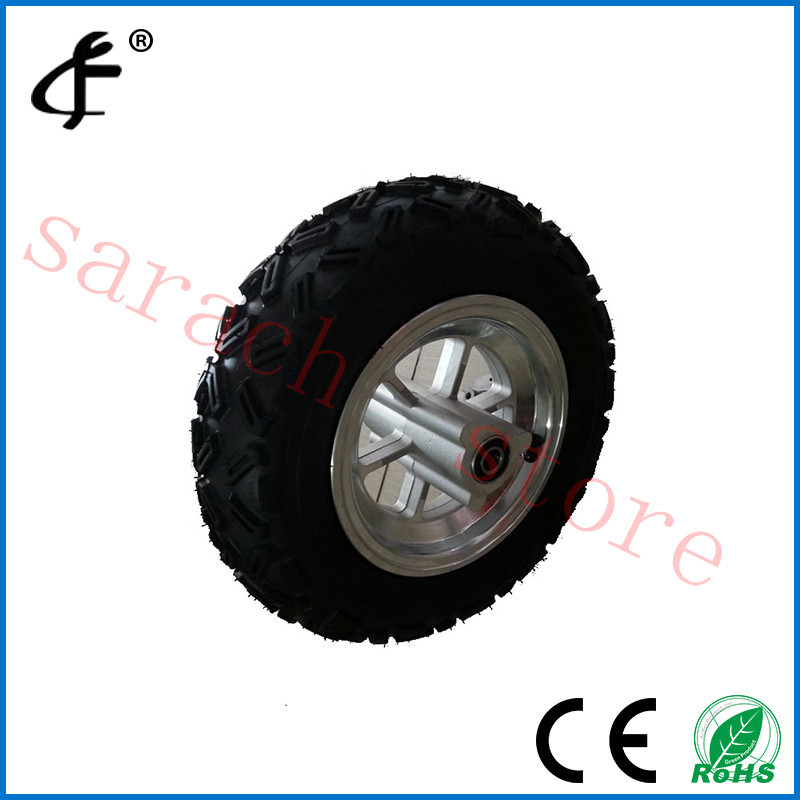 10 Vacuum Tire Electric Scooter Motor Front Wheel Hub