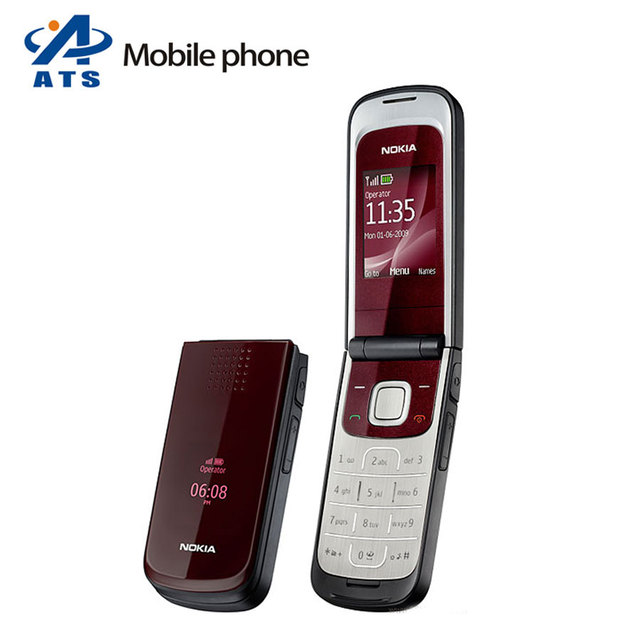Original Unlocked Nokia 2720 Mobile Phone Bluetooth FM Radio Russian Keyboard Support Free Shipping