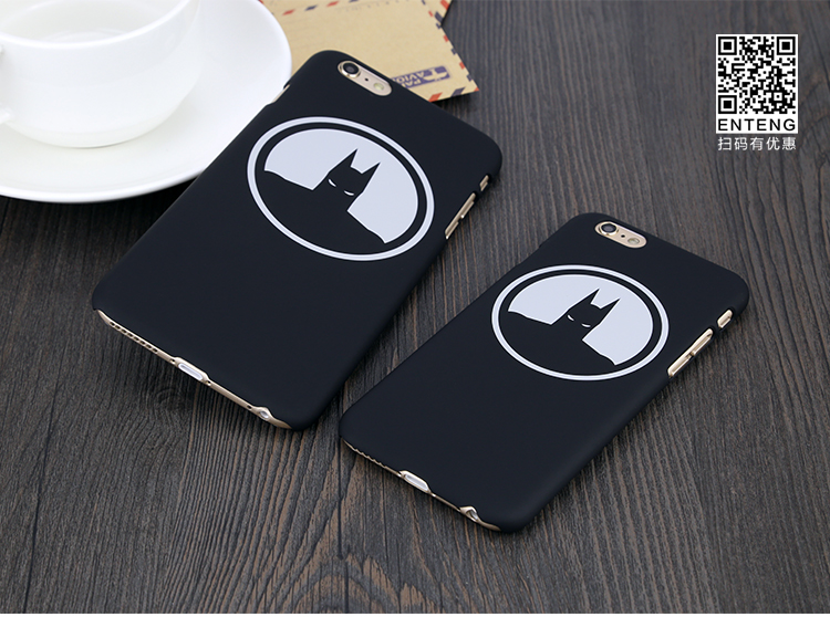 2016 Anime Superhero Batman Silicone Rubber Back Cover phone Case For iPhone 5 5s 6 6s plus
