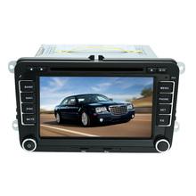 7'' Car DVD Player Radio PC Stereo GPS Navigation Bluetooth for VW SAGITAR JETT PASSAT CC SKODA+ Map/Card Camera/Video/DVR Input(China (Mainland))