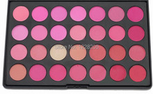 Fashion 28 Color Affordable Best Blusher for fair skin Pink Blush Powder Makeup Palette Face Care Discount Cosmetics Blush Set(China (Mainland))