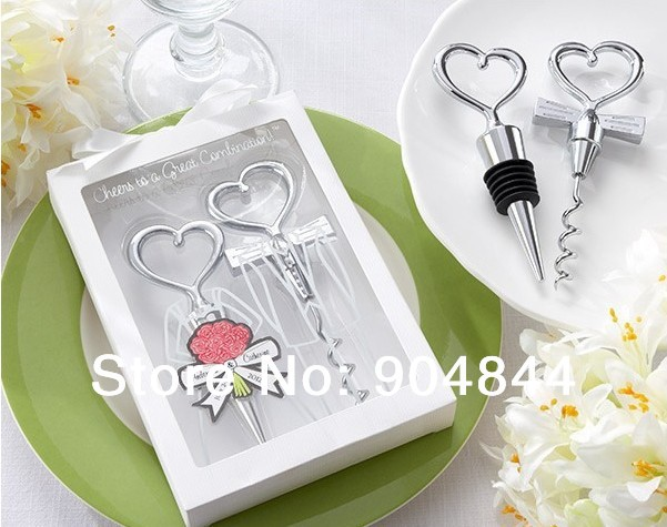 Great Wedding Gifts Under 100 : ... Great Combination Corkscrew and Stopper Sets Wedding Faovrs Gift from