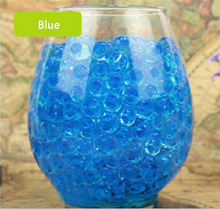 Free Shipping 1000pcs Water Plant Flower Jelly Crystal Soil Mud Water Pearls Gel Beads Balls Beads Decoration VaseCrystal N639-9(China (Mainland))