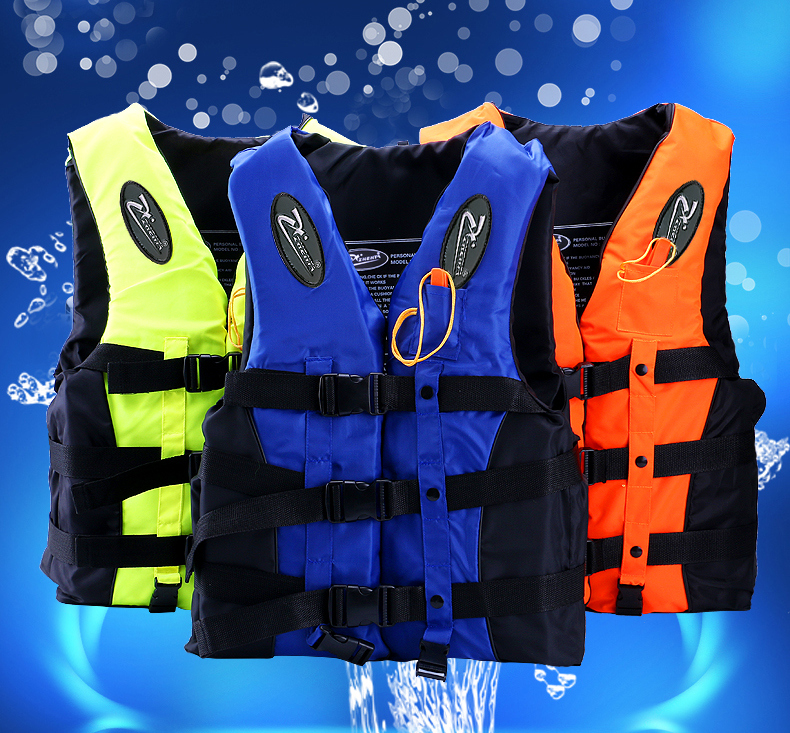 High quality Adult Foam Flotation Swimming Life Jacket Vest Whistle Boating water fishing Swimming Safety Life Jacket JSY001(China (Mainland))