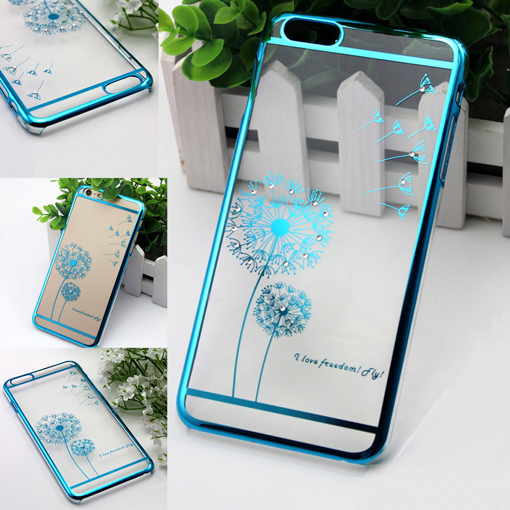 10pc Luxury Crystal Rhinestone Case iPhone 5 5S 6 6plus Diamond Gold Slim Shining Bling Electroplating Drill Phone case - Xinghai store