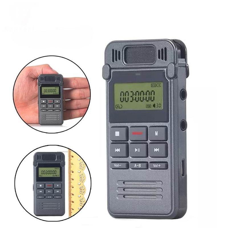 Voice Recorder Slim Rechargeable 8GB 650HR Digital Audio Voice Recorder Dictaphone MP3 Player HQ Sound Recorder(China (Mainland))