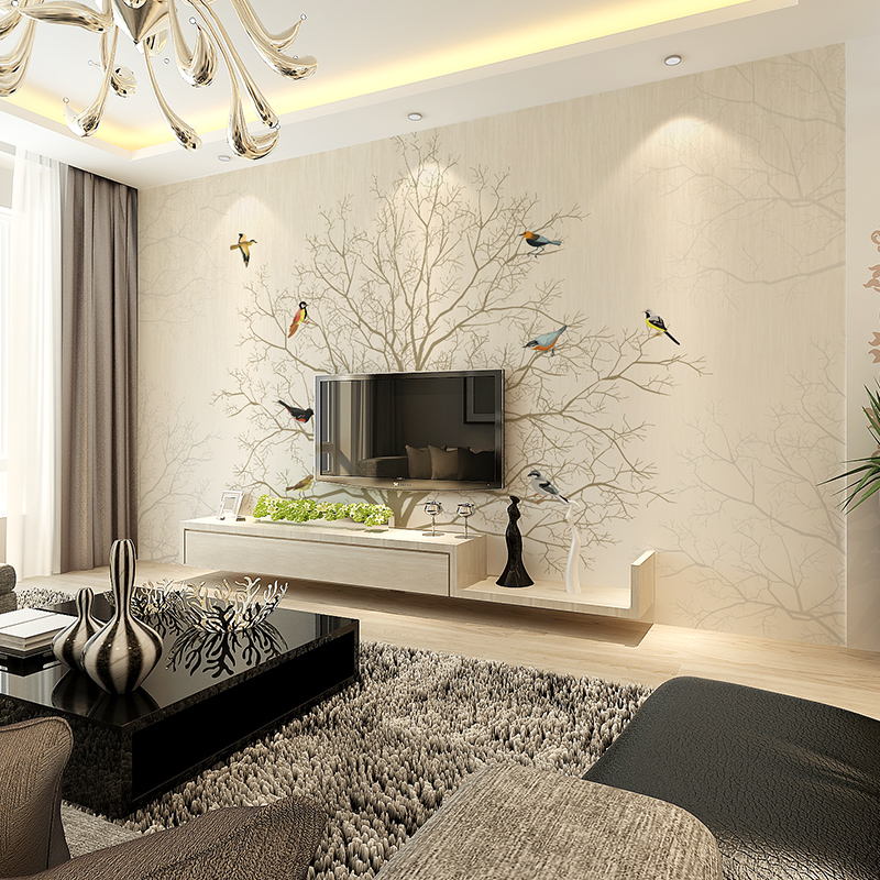 Popular chinese wall coverings buy cheap chinese wall for Minimalist living bedroom
