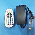 AC 220V RGB Led Controller 20 24 Keys Wireless IR Remote Control Dimmer for 3528 5050
