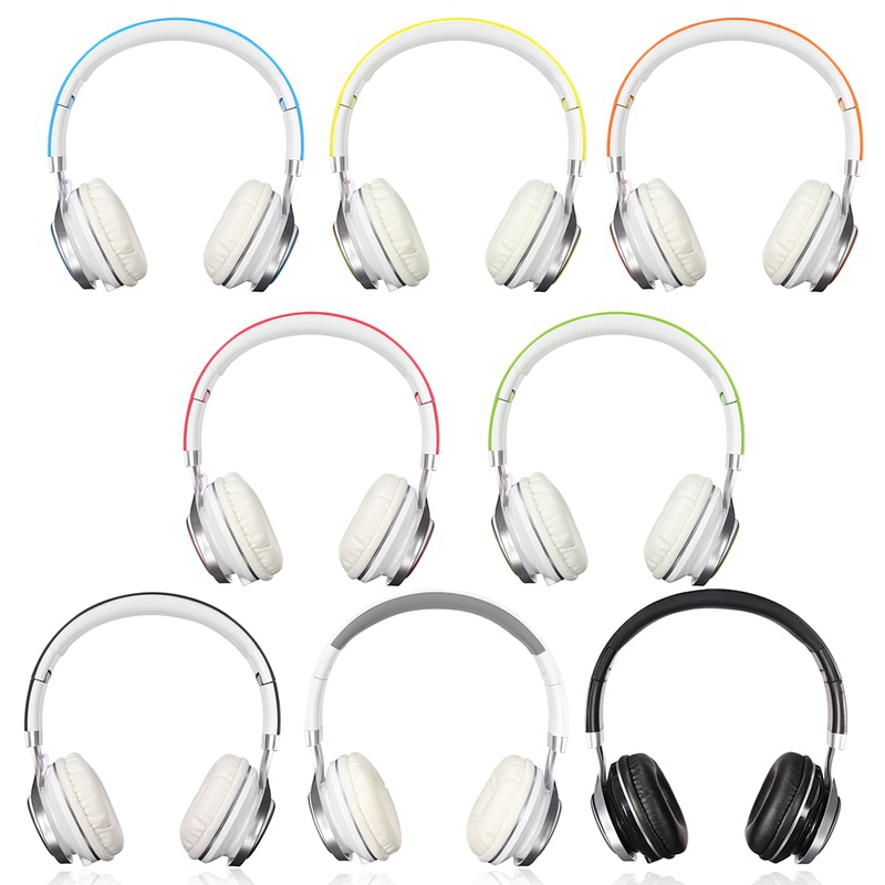 New Stylish Best Headphones Fold Stereo Surround 3.5mm Headband Headset For Samsung For HTC With Microphone