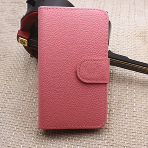 Luxury Litchi leather case cover Fly Spark IQ 4404 wallet,stand function card holder, - mm-01 store