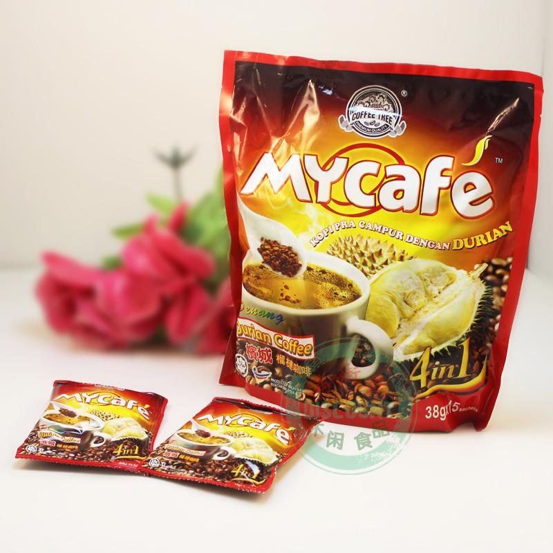 Top grade Mycafe famous brand Malaysia Durian coffee 570g instant white coffee 100 orginal natural 4
