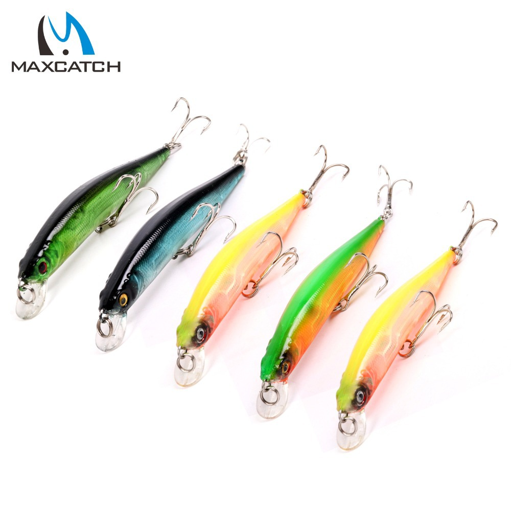 100mm 8.37g 1.2m 5Pieces/Lot  Minnow Fishing Lures Artificial Bait Plastic Hard Fishing Lures Fishing Bait<br><br>Aliexpress