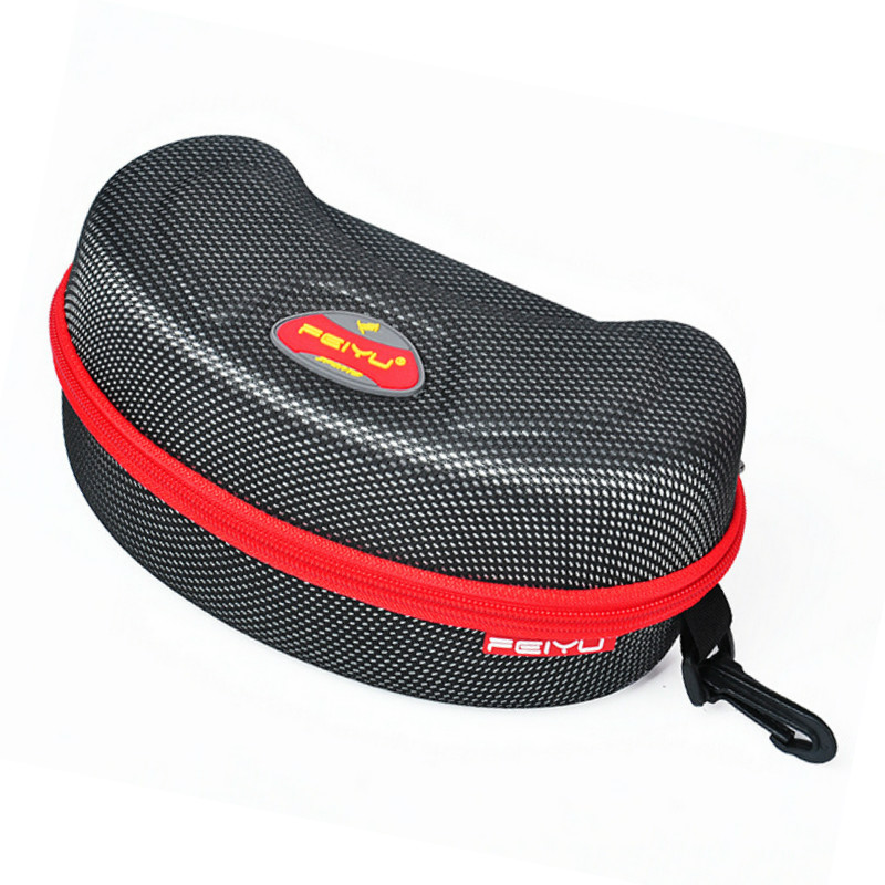 Outdoor Sports Skiing Goggles Box Motorcycle Cycling bike Snowmobile Goggles skateboard eyewear Glasses Hard Protector Bag Case(China (Mainland))
