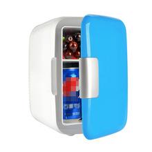 Buy 4L Mini Car Fridge Cooler Warmer 2 1 Multi-function Travel Refrigerator Portable Electric Icebox Cooler Box Freezer 12V for $34.20 in AliExpress store