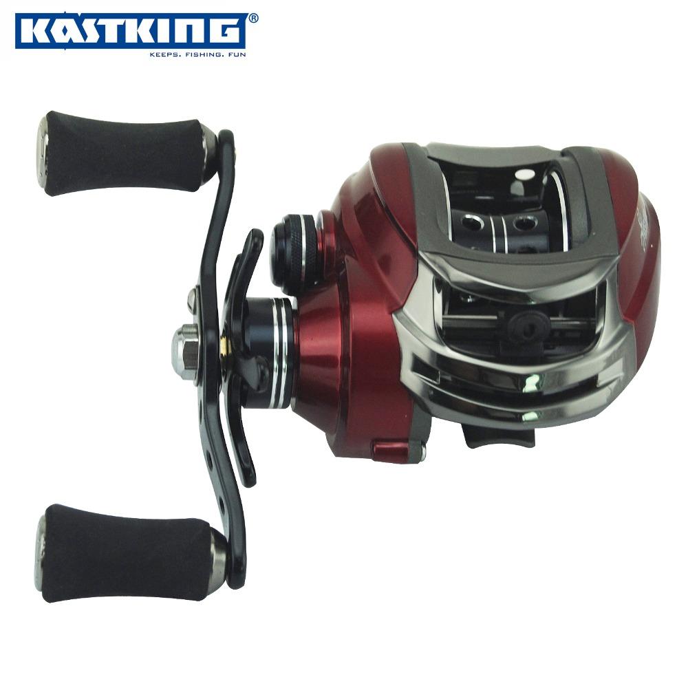 KastKing RS1000 baitcasting reel 12 ball bearings carp fishing gear Left Right Hand bait casting fishing reel