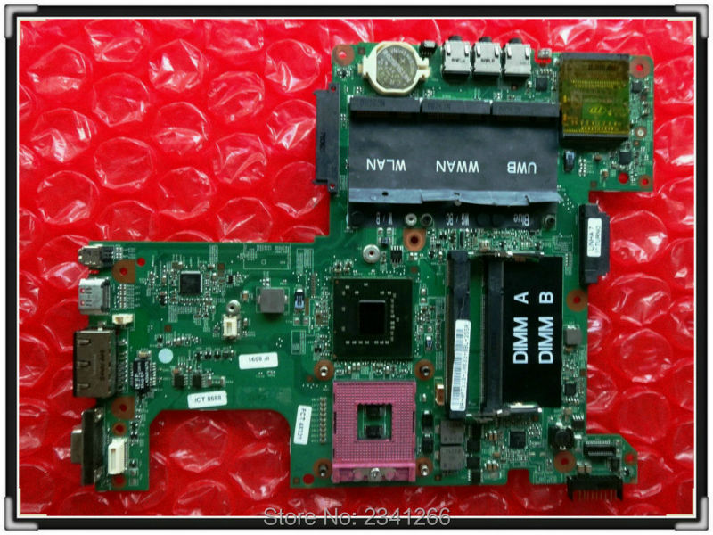 CN-0PT113 FOR DELL INSPIRON 1525 motherboard PT113 48.4WQ02.031 965GM 100% Tested Working(China (Mainland))