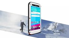 DHL 10PCS LOVEMEI Shockproof Case for LG G4 H815 H818 F500 Dropproof Aluminum Metal Cover for