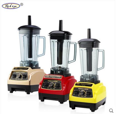 Heavy Duty Commercial Blender Mixer Juicer High Power Food Processor Ice Smoothie Bar Fruit Electric Blender(China (Mainland))