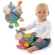 Animaux livre en tissu bébé jouets 0 - 12 mois activité de développement livre nouveau - né apprentissage Toy & éducation souple déroulement livres CBZBF131(China (Mainland))