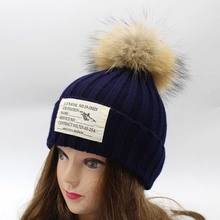 Gorro Masculino Wool Warm Knitted Hat Diquared Nissy Patch Pom Beanies Skullies Fashion Hairball Boonet Hats Sombreros Mujer(China (Mainland))