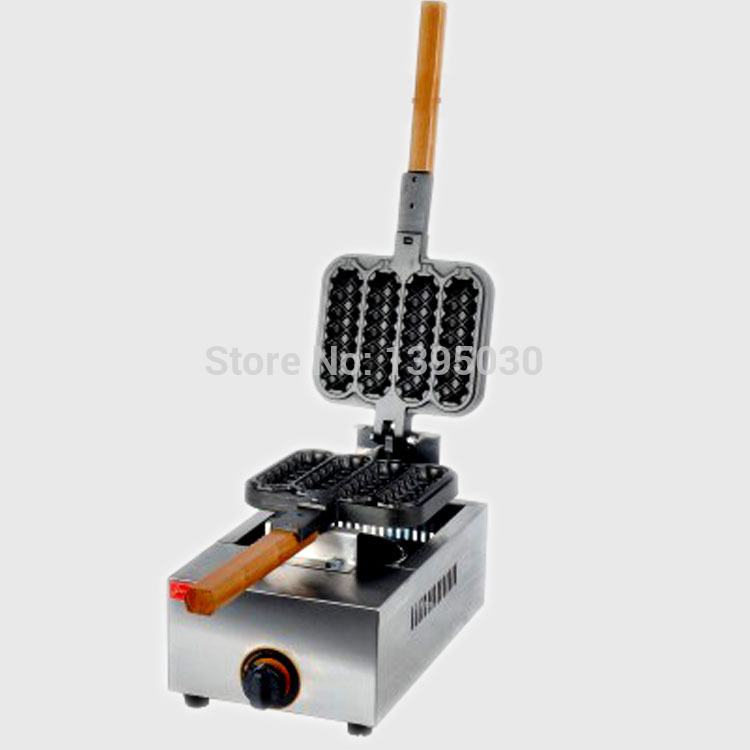 Free Shipping By DHL 1PC FY-114R Electric Hot Dog Shape Waffle Maker Cake Maker Snack Baking Machine Gas Crisp Machine<br><br>Aliexpress