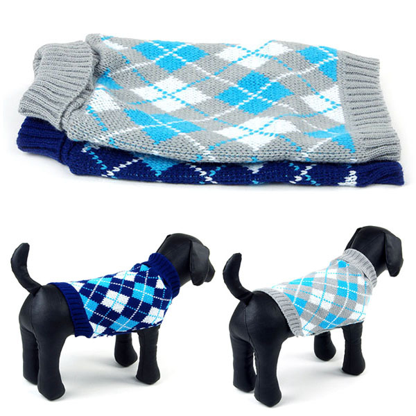 Dogs in Sweater Vests Stylish Dog Knit Vest Sweater