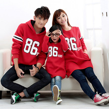 Active Long Sweatshirts Family Clothes Mother and Daughter Clothing Children Sweatshirt Clothes Family Set Autumn Red/Gray, YR11(Hong Kong)
