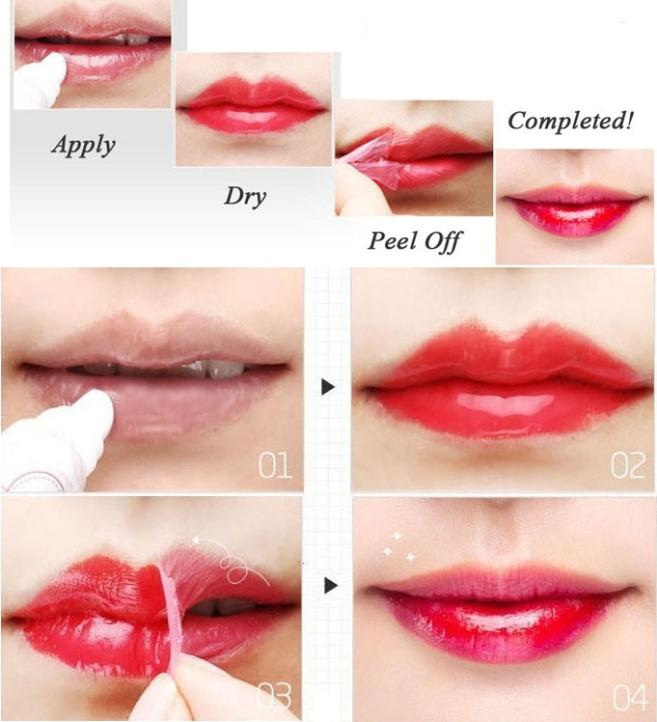 Nutritious Lipstick Makeup Peel-off Lasts For 24h Magic Lip Tattoo ...