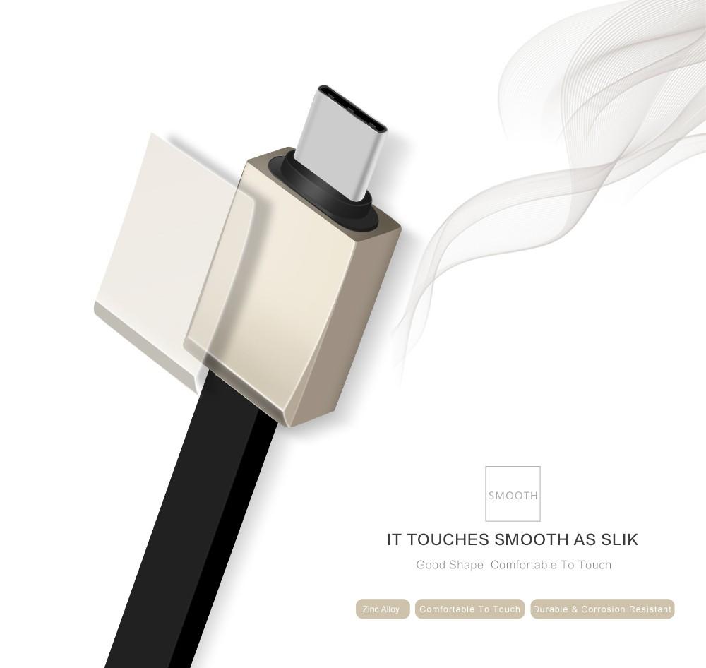 DIYIE USB Type-C USB K300 to USB Type C Fast Charging & Data Cable For OnePlus 2 Nexus 6P 5X ZUK Z1 Xiaomi 4c Z9 Max N1 MAC