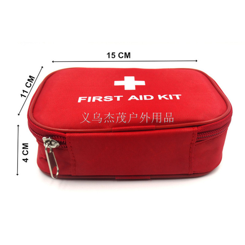 Outdoor Travel First Aid kit Home mini First Aid kit small Car Medical box Emergency Survival kit Size 14.5*10.5*4 CM(China (Mainland))