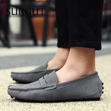 2016 Fashion Summer Style Soft Moccasins Men Loafers High Quality Brand Genuine Leather Shoes Men's Flats Gommino Driving Shoes(China (Mainland))