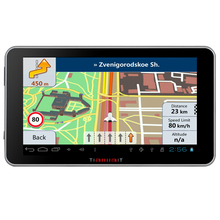 7 inch Capacitive Car GPS Navigation Android 4 4 2 Bluetooth WIFI MT8127 Quad Core 16GB