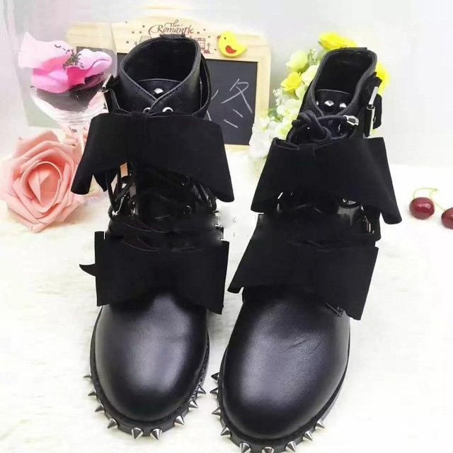 Online Get Cheap Girls Combat Style Boots -Aliexpress.com ...