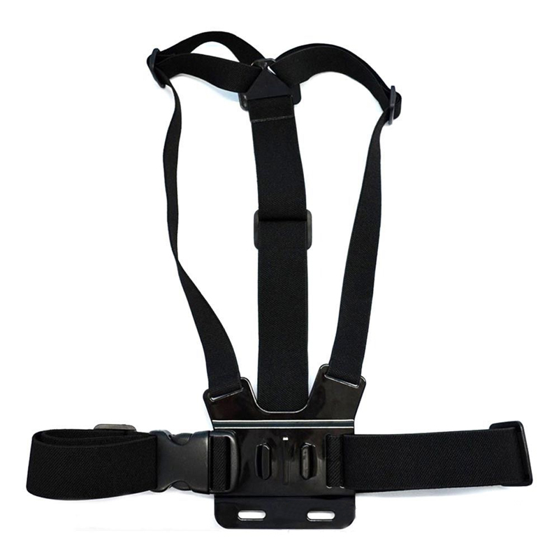 GOLDFOX for Gopro Accessories Adjustable Chest Strap Belt Body Tripod Harness Mount For Gopro Hero 5 4 3+2 1 SJCAM Xiaomi Yi Cam