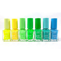 Retail Available Color Fluorescent Neon Nail Art Polish Glow in the Dark Color Nail Varnish Luminous Paint