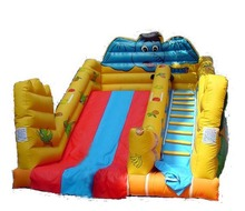Factory direct inflatable slide, inflatable castle, inflatable obstacles, water park, etc ...--hx  214(China (Mainland))